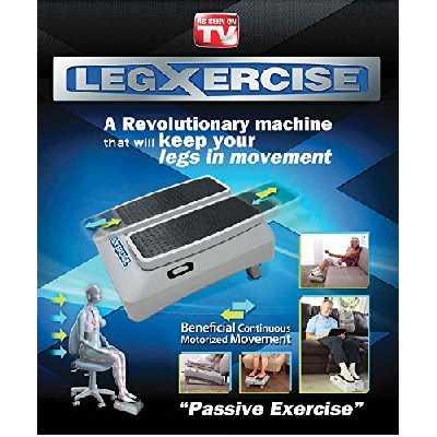 LEGXERCISE Machine de Gymnastique Passive, 2 Vitesses