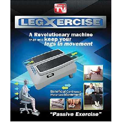 LEGXERCISE Machine de Gymnastique Passive, 2 Vitesses