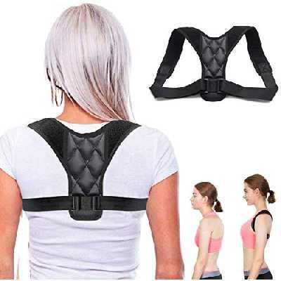 Correcteur de posture - Ouzigrt Correcteur de posture élastique réglable pour homme ou femme - Soutien dorsal et correction de posture du dos